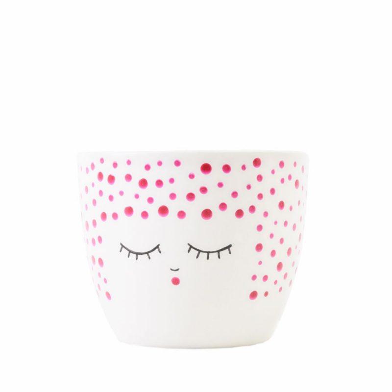 Mika Midi // Dot Pink